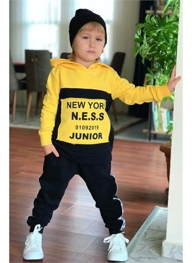 Riccotarz Erkek Çocuk Şeritli - Eşofman Takım Renkli